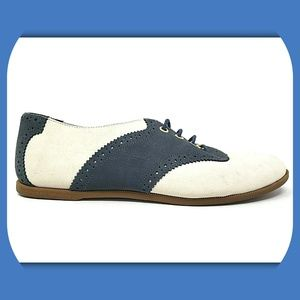 SPERRY TOP-SIDER Suede Saddle Oxfords